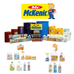 Mr McKenic - Products that clean, wash, disinfect, degrease, lubricate, polish and protect both at the workplace and at home