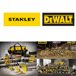 Stanley and DeWalt - Hand Tools and Power Tools